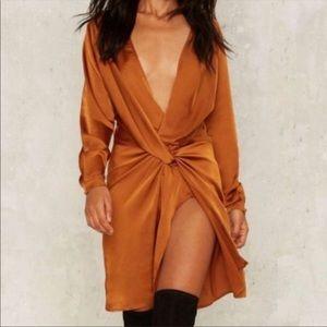 Nasty gal knot dress